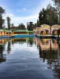 Barcos coloridos fotografia de stock royalty free