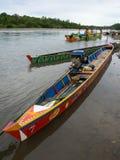 Barcos coloridos Imagen de archivo libre de regalías