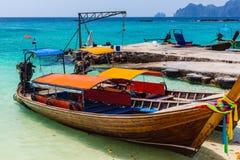 Barcos coloridos Fotografía de archivo libre de regalías