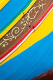 Barcos coloridos en Malta Foto de archivo libre de regalías