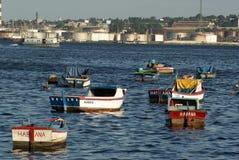 Barcos cubanos Fotografía de archivo libre de regalías