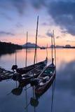 Barcos da cauda longa Imagens de Stock Royalty Free