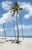 Barcos da praia fotografia de stock royalty free