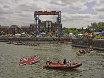 Barcos da segurança Fotografia de Stock