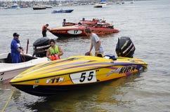 Barcos da velocidade. Fotografia de Stock Royalty Free