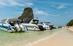 Barcos da velocidade Imagens de Stock