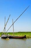 Barcos de Albufera Imagenes de archivo