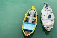 Barcos de amor Imagem de Stock