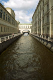Barcos de canal. Fotografia de Stock Royalty Free