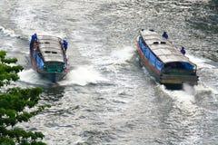 Barcos de canal Imagem de Stock Royalty Free