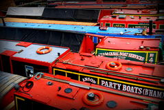 Barcos de canal Foto de archivo
