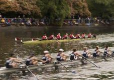 Barcos de competência na água Imagem de Stock Royalty Free