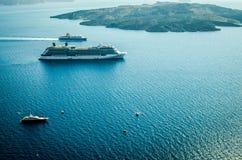 Barcos de cruceros Fotografía de archivo libre de regalías