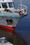 Barcos de cruceros del arco Foto de archivo libre de regalías