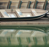Barcos de fileira Imagens de Stock