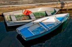Barcos de fileira imagens de stock royalty free