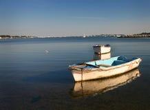 Barcos de fileira - porto de Poole fotografia de stock