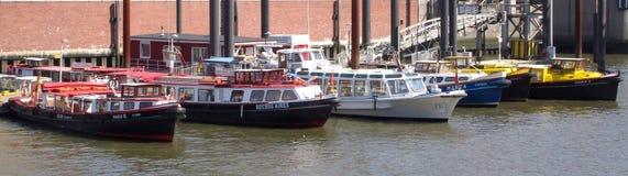 Barcos de funcionamento Foto de Stock Royalty Free