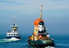 Barcos de Halifax imagens de stock
