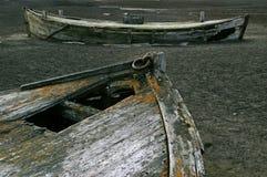 Barcos de la pesca de ballenas, isla del engaño, Ant3artida Fotografía de archivo libre de regalías