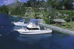 Barcos de la pesca deportiva Imagen de archivo libre de regalías