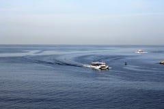 Barcos de la travesía Imagenes de archivo