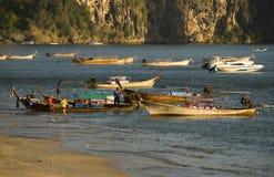 Barcos de Longtail Imagem de Stock