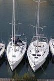 Barcos de los Withes Imagen de archivo libre de regalías