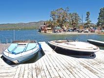 Barcos de lujo de la velocidad Fotografía de archivo libre de regalías