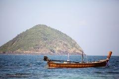 Barcos de madeira tailandeses tradicionais Imagem de Stock