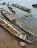 Barcos de madera Imágenes de archivo libres de regalías