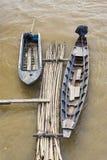 Barcos de madera Fotografía de archivo