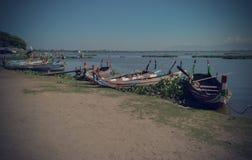 Barcos de madera viejos hermosos Fotos de archivo
