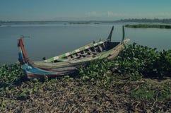 Barcos de madera viejos hermosos Imagen de archivo libre de regalías