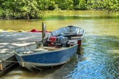 Barcos de motor Imagen de archivo libre de regalías
