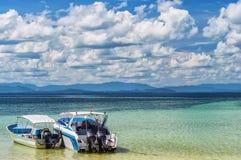 Barcos de motor tailandeses Imagenes de archivo