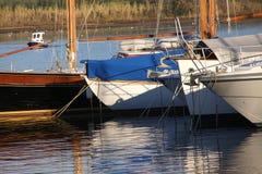 Barcos de navegación Foto de archivo libre de regalías