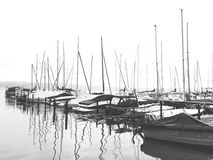 Barcos de navegación Fotografía de archivo libre de regalías