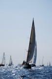 Barcos de navegación viejos en Imperia Imagen de archivo libre de regalías