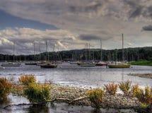 Barcos de navigação no coniston Imagem de Stock Royalty Free
