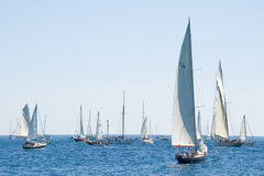 Barcos de navigação velhos nos Imperia Fotografia de Stock Royalty Free