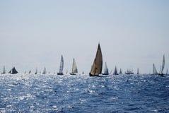Barcos de navigação velhos nos Imperia Imagem de Stock