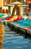 Barcos de pá Foto de Stock Royalty Free