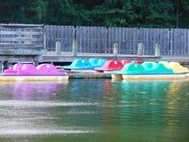 Barcos de pá Foto de Stock
