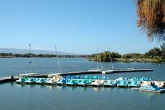 Barcos de paleta Fotos de archivo