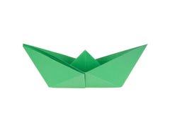 Barcos de papel coloridos Foto de Stock