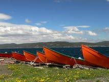 Barcos de pesca 1 Imágenes de archivo libres de regalías