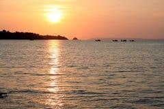 Barcos de pesca Imagen de archivo libre de regalías