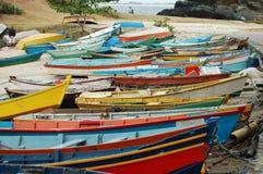 Barcos de pesca Fotografía de archivo