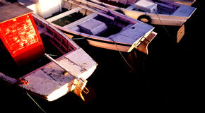 Barcos de pesca Fotos de archivo libres de regalías